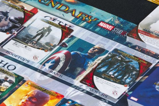 legendary marvel mcu phase 1 cards