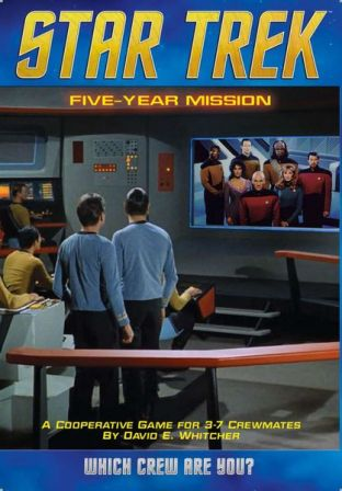 star trek five year mission box