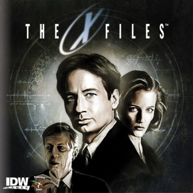 xfiles board game box