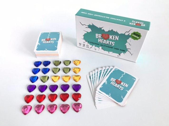 broken hearts kickstarter box