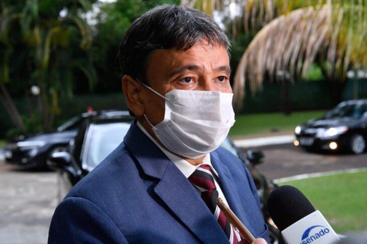 audiencia Wellington Dias trata sobre plano de imunização com presidentes da Câmara e do Senado
