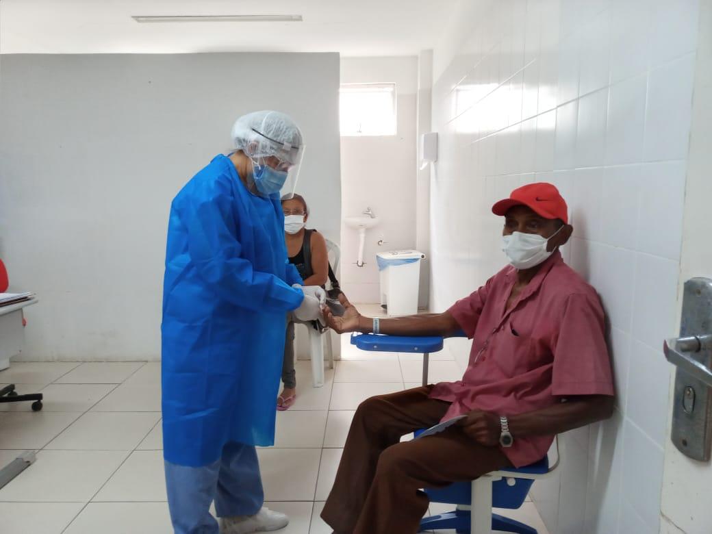 Acompanhantes testes Mais de 50% dos pacientes internados com Covid-19 no HGV são homens