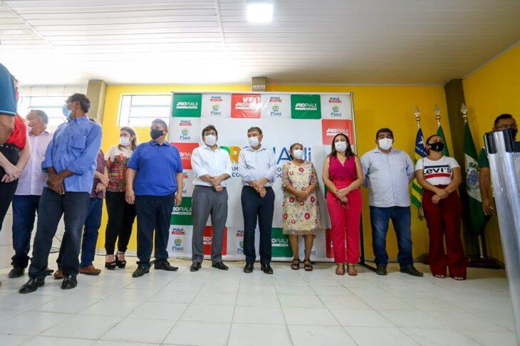 Agenda em Paes Landim 16 Dias inaugura obras nas áreas de saúde, transporte e segurança em Paes Landim