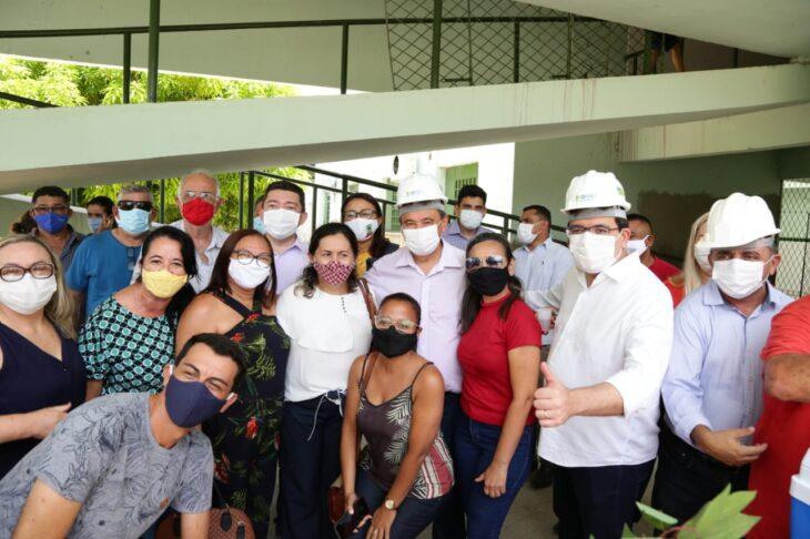 agenda campo maior 25 Governador inaugura obras de mobilidade e visita reforma de escola em Campo Maior