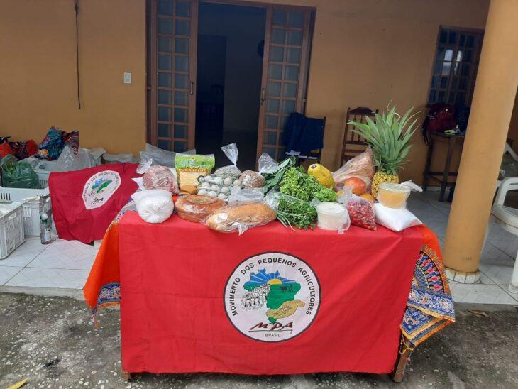 mesa MPA produtos Movimento dos Pequenos Agricultores do Piauí promove a 3ª edição Natal sem Veneno