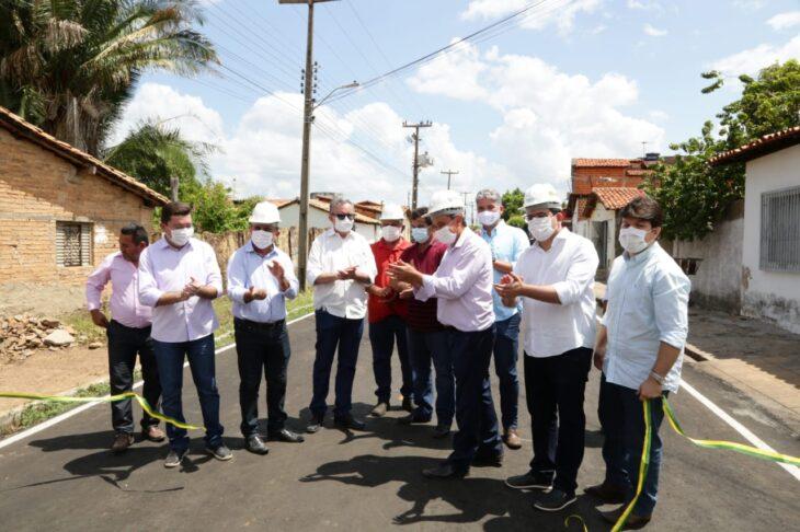 rua alecrim 16 Governador inaugura obras de mobilidade e visita reforma de escola em Campo Maior