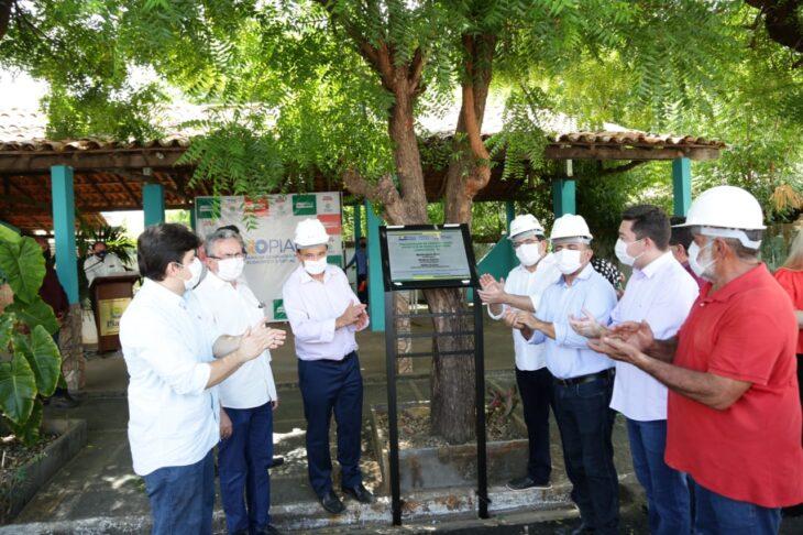 rua alecrim 6 Governador inaugura obras de mobilidade e visita reforma de escola em Campo Maior