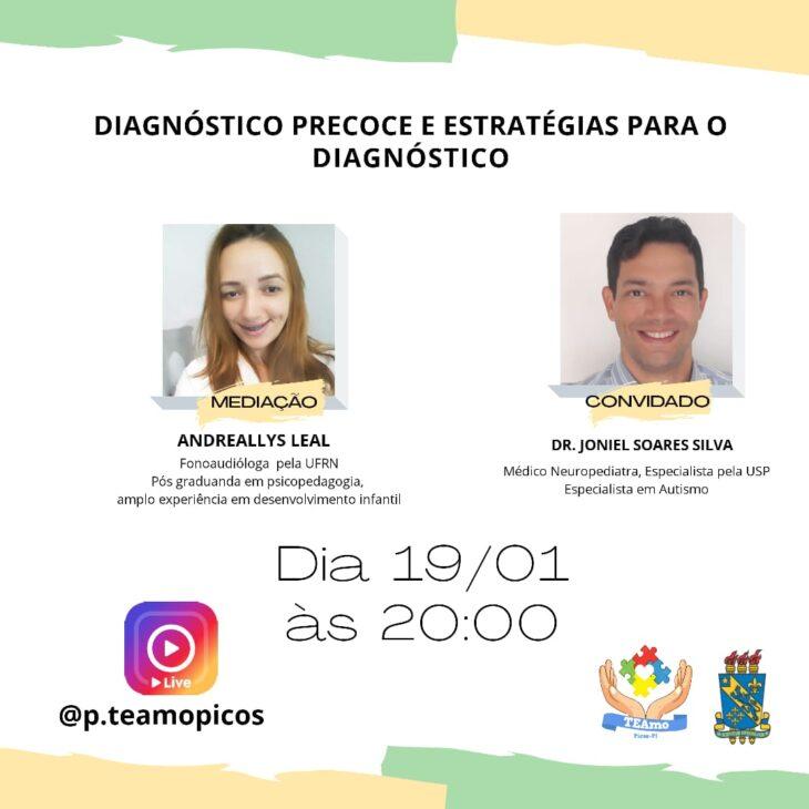 1 3 Aluna da Uespi de Picos cria projeto que acolhe pessoas com autismo e capacita familiares e educadores