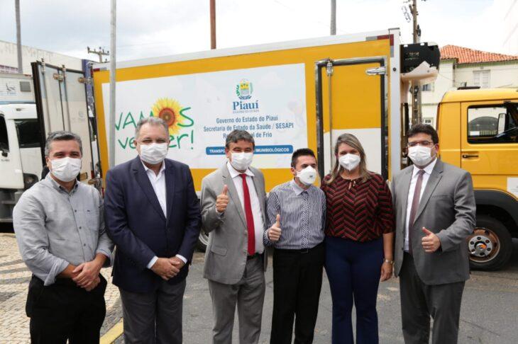 7aef9d98 4fd1 461b 84dc 5deae1164a31 Piauí inicia distribuição de insumos para vacinação contra a Covid em municípios