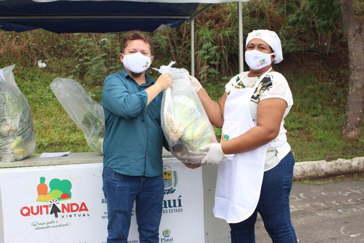 IMG 9455 Projeto Quitanda Virtual garante comercialização de produtos da agricultura Familiar em Teresina