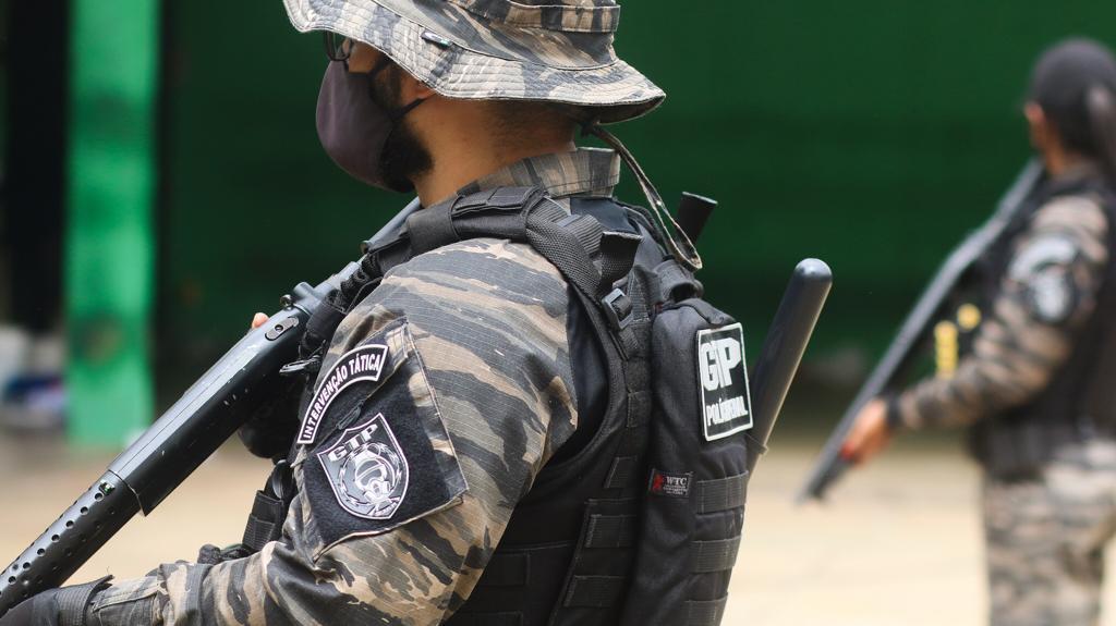 Vistoria Penitenciaria Picos 3 Polícia Penal faz vistoria e retira ilícitos da Penitenciária de Picos
