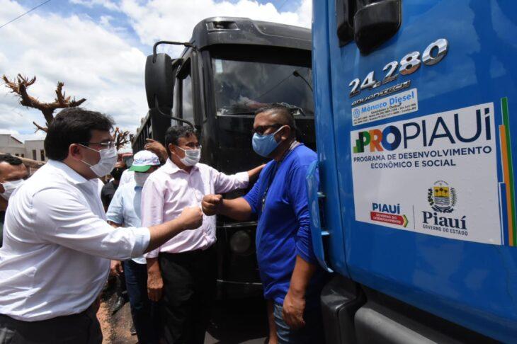 agenda em guaribas 10 Governador entrega obras de mobilidade urbana em Guaribas