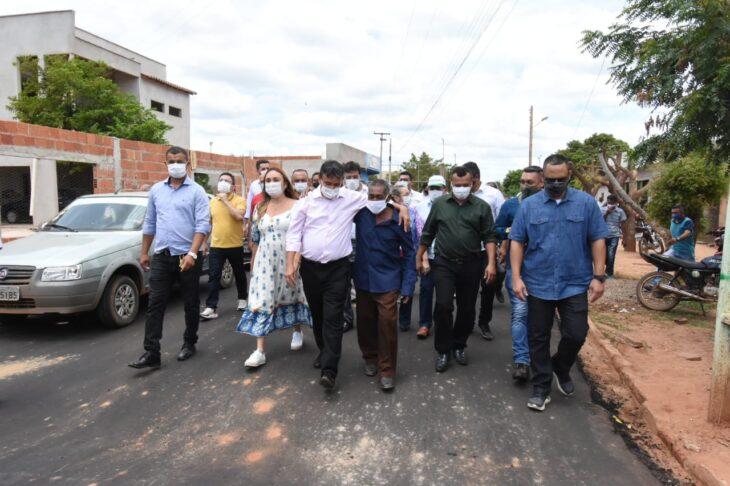 agenda em guaribas 8 Governador entrega obras de mobilidade urbana em Guaribas