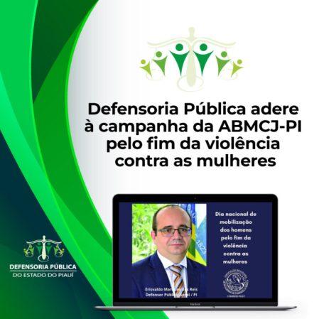 campanha Defensoria Pública adere à campanha pelo fim da violência contra mulheres