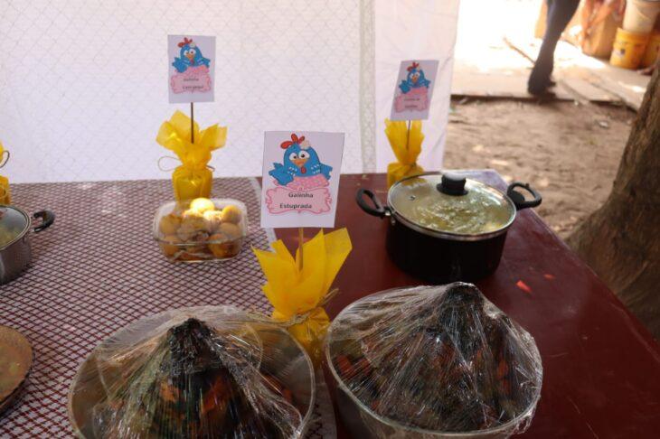 pratos Famílias de Lagoa do São Francisco são beneficiadas com projetos executados pela SAF
