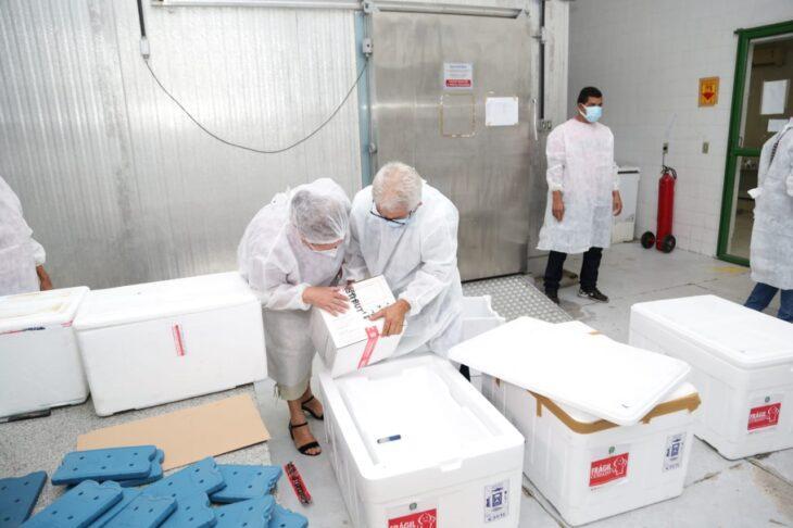 rede de frios coronavac 12 Governo distribuirá vacinas via terrestre e aérea para cidades do interior do Piauí