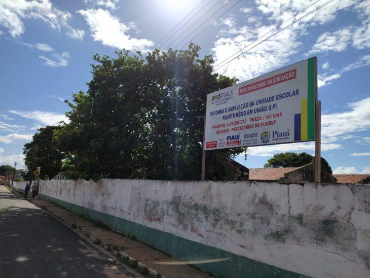 FILINTO 2 PRO Piauí garante obras em escola estadual de União