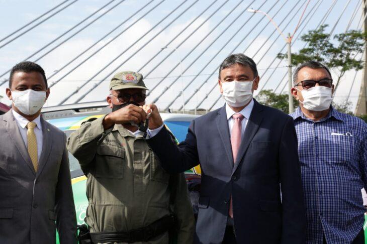 WhatsApp Image 2021 02 02 at 09.46.04 Governador entrega 246 viaturas à Polícia Militar