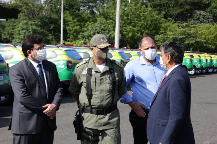 WhatsApp Image 2021 02 02 at 09.46.08 Governador entrega 246 viaturas à Polícia Militar