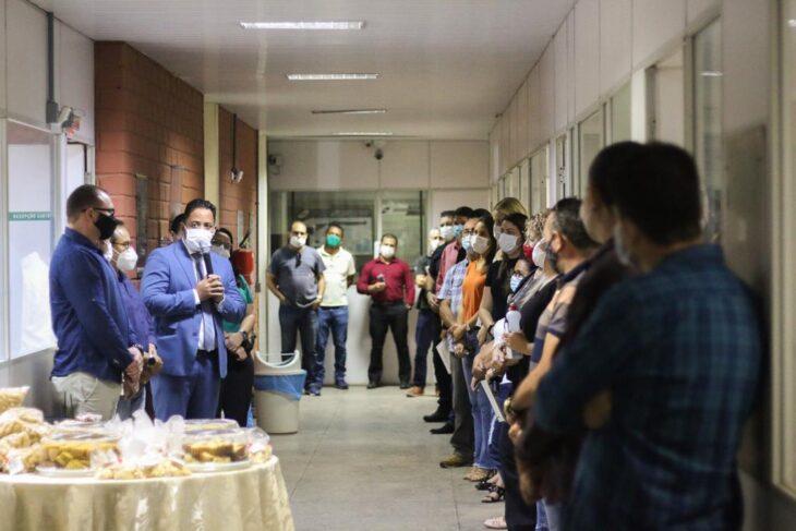 WhatsApp Image 2021 02 02 at 13.11.22 Servidores da Sejus recebem café da manhã feito por reeducandos de Oeiras
