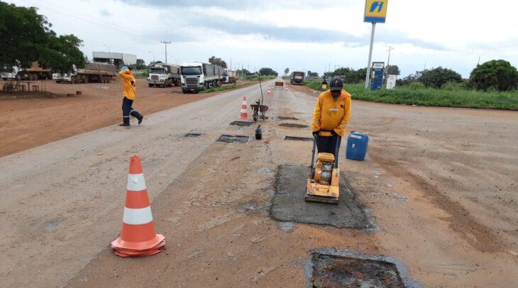WhatsApp Image 2021 02 08 at 17.35.13 2 DER recupera trecho da PI-247 na região do Cerrado