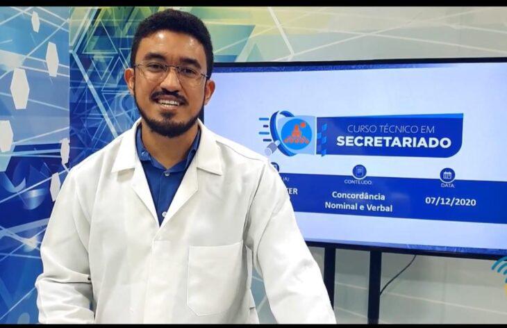 aula remota prof Educação Técnica e Profissional avança no Piauí