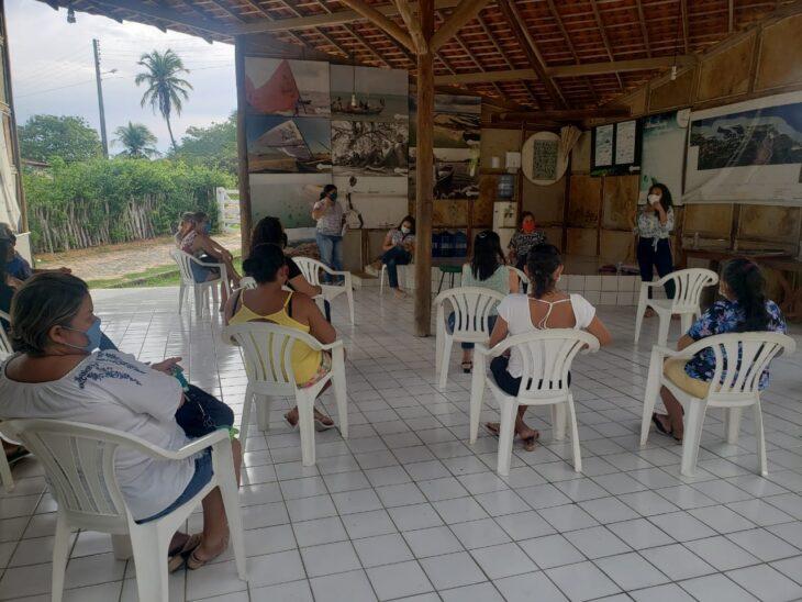 cepm planicie litoranea5 Coordenadoria da Mulher realiza busca ativa para apoio a marisqueiras, artesãs e pescadoras