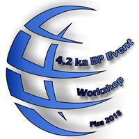 "4.2 ka BP event international workshop"" - Logo"