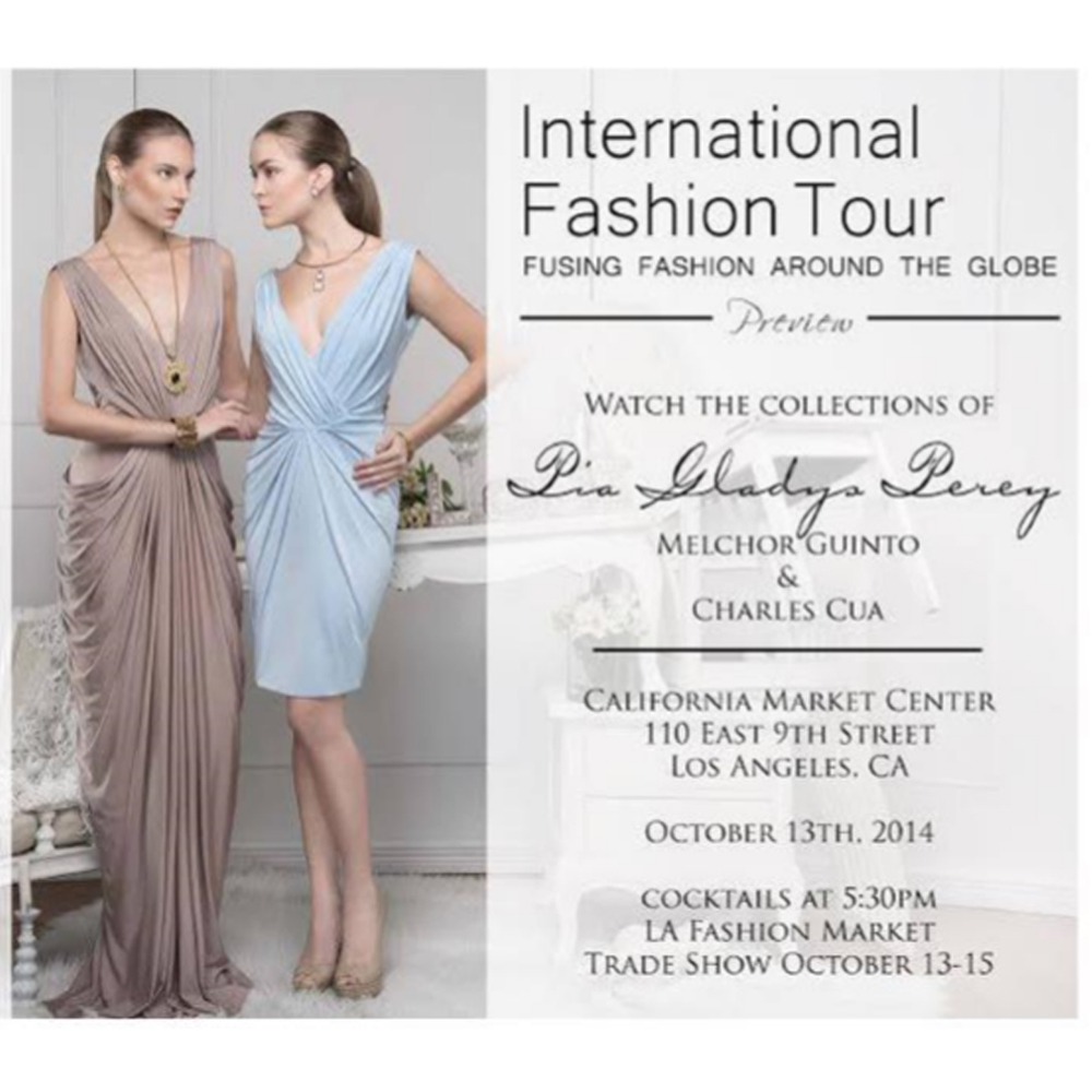 International fashion tour at california market center