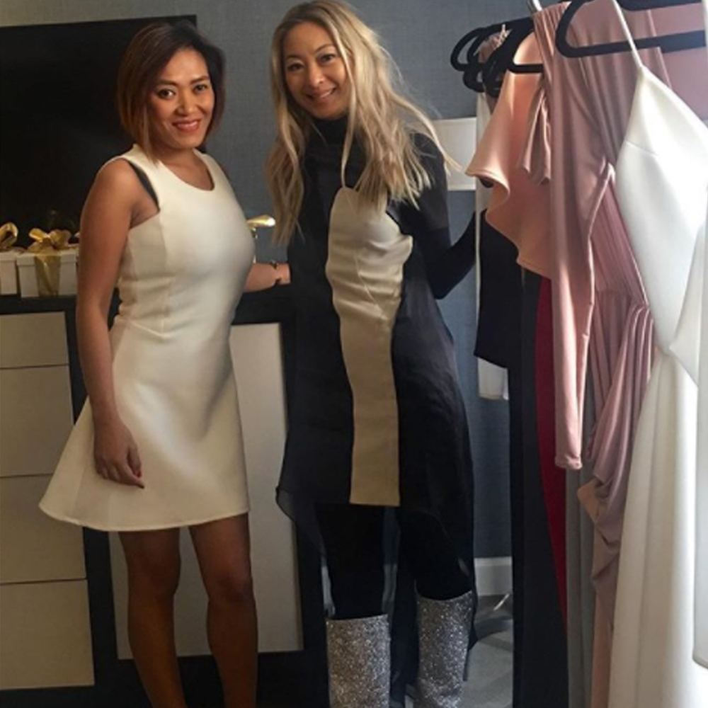 Pia met with style blogger Anchyi Wei of Anchyi Adorned