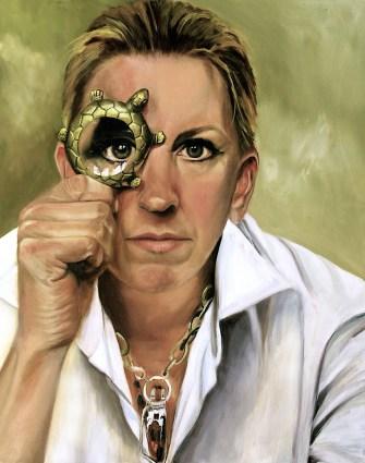 Pia Ledy - Self Portrait