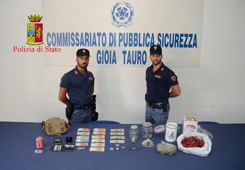 Gioia Tauro: arrestati due soggetti per cessione e detenzione illecita di sostanze stupefacenti