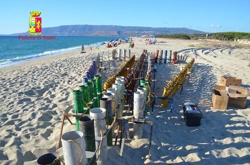 San Ferdinando, sequestrati circa 120 Kg di fuochi pirotecnici  in occasione dei festeggiamenti in onore di Santa Barbara