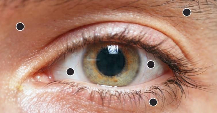 8 cose che gli occhi mostrano sulla nostra salute