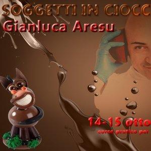 Soggetti in cioccolato con Gianluca Aresu - Pianeta Dessert School