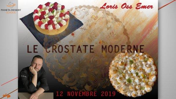 Le crostate moderne con Loris Oss Emer -Pianeta Dessert School
