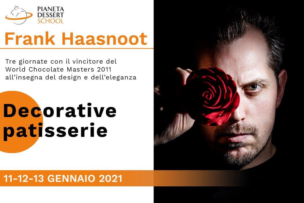 Frank Haasnoot Pianeta Dessert School