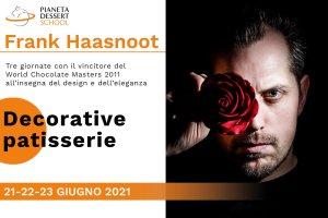 Pianeta Dessert School Frank Haasnoot 21 giugno