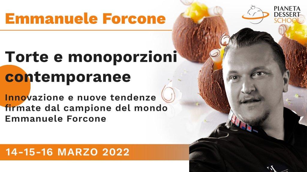 Emmanuele Forcone_monoporzioni Pianeta Dessert School
