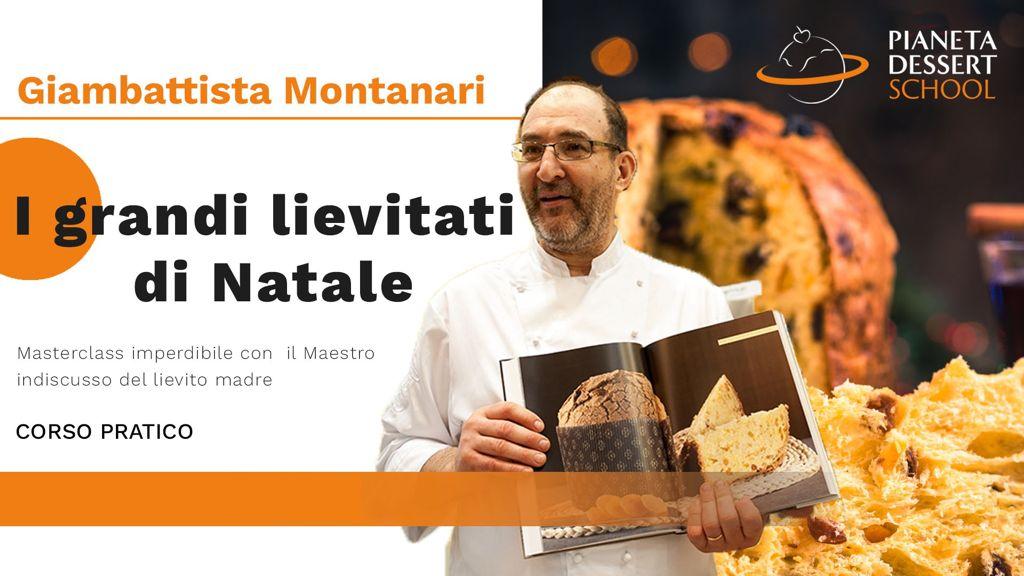 Panettoni Giambattista Montanari Pianeta Dessert School