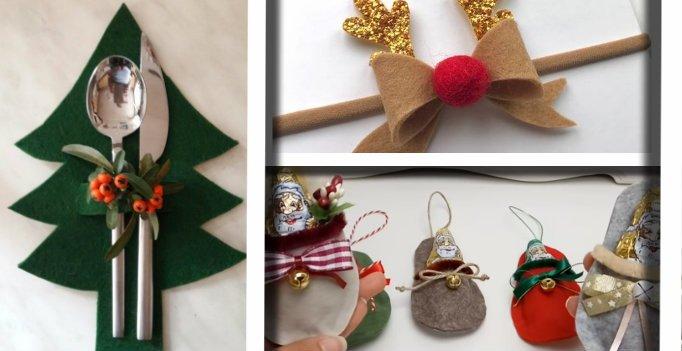 Pannolenci E Feltro A Natale Ecco 20 Idee Senza Cuciture