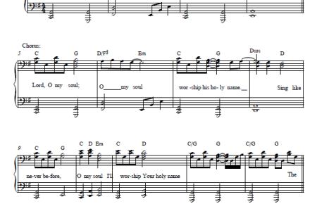 Free Sheet Music » sheet music to piano keys | Sheet Music