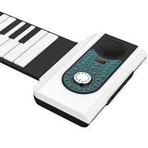 88-Key portable Piano épaississement Rides Piano électronique professionnelle Clavier silicone souples adultes pratique Organe A