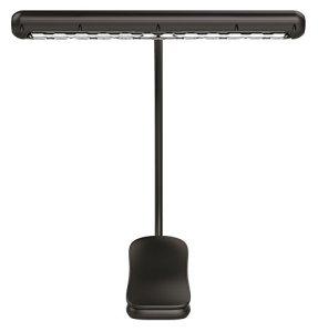 alneo Light Eternity Lampe de piano La Batterie Bornes LED Light avec 12LED Noir