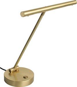 Steinbach LED lampe de piano Rondo en laiton mat de qualité fabriqué en Allemagne