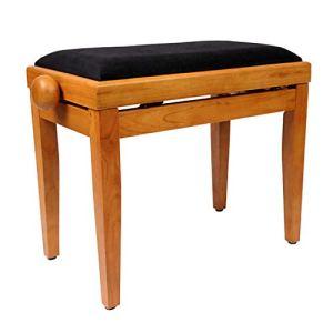 Piano stool Klavierhocker Elektronischer Klavierhocker Aufzug Kinderbett Hocker Schwarz Kinderbett Hocker,A-55 * 32 * 49/59cm