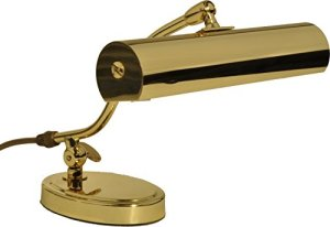 Lampe De Piano Jahn 1x 40w Classik Laiton Poli – Made In Germany