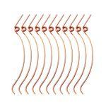 Artibetter 70pcs ressorts de marteau de piano pour le remplacement de pièces de réparation de pianos droits (or)