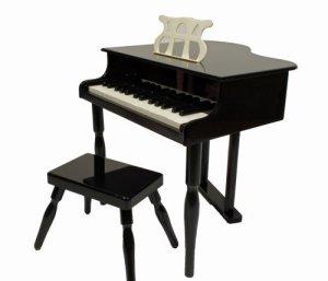 Piano à queue noir pour Enfant avec tabouret ~ Neuf & Garantie