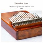 CHENTAOMAYAN Tremolo chaîne for Kalimba chaîne Piano Chaîne de Sable for Thumb Piano Instrument Améliorer la chaîne Musicale (Color : Gold)